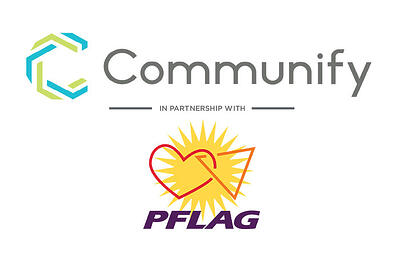 Combined Communify Logo with the Flag Logo