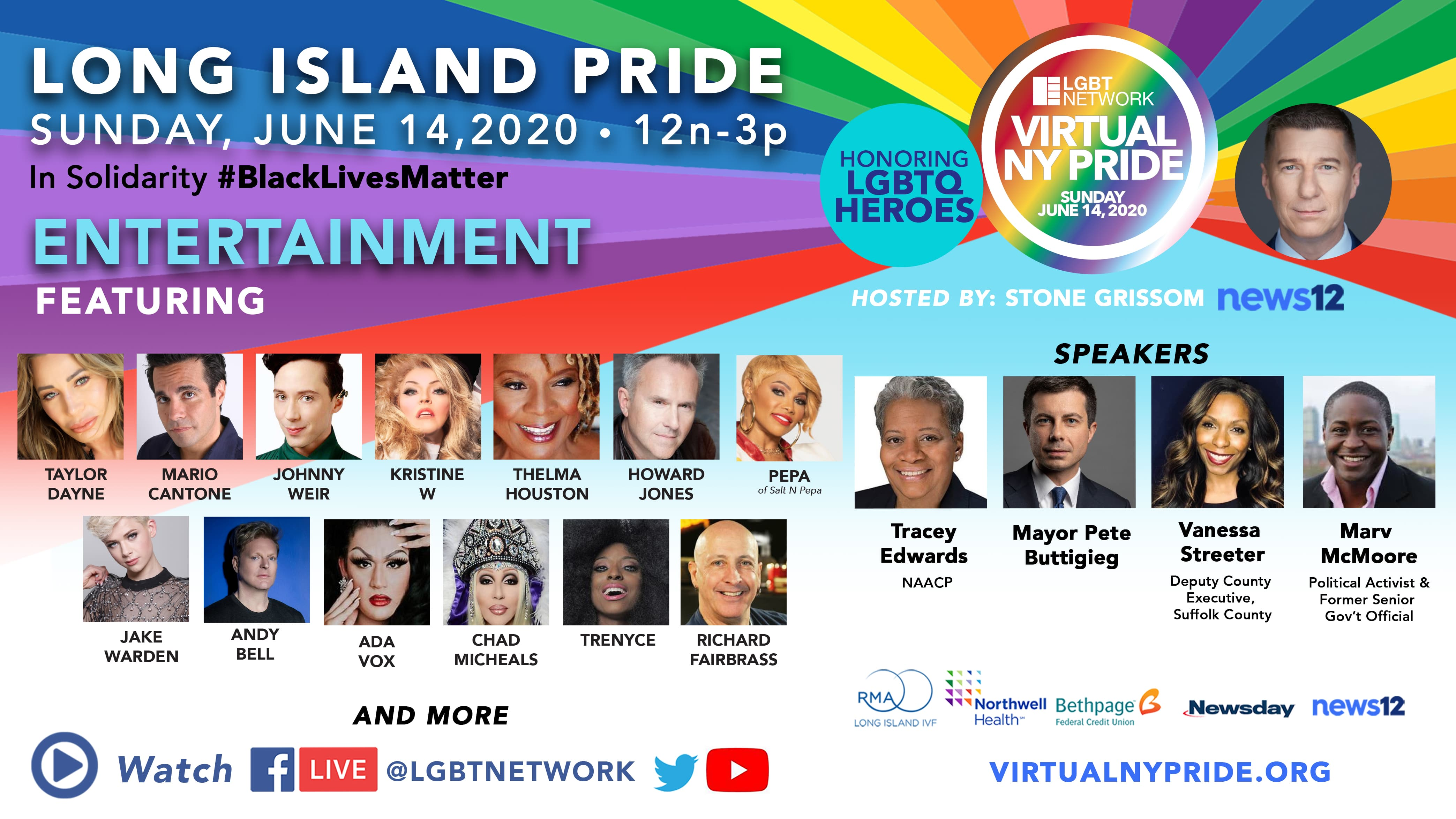 Infographic for Long Island Pride