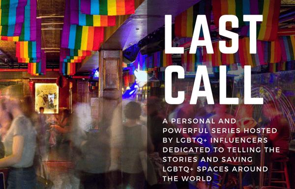 Last Call story header of gay bar