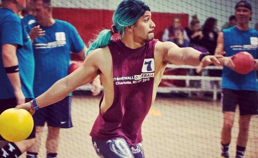 Stonewall Sports Dodgeball player