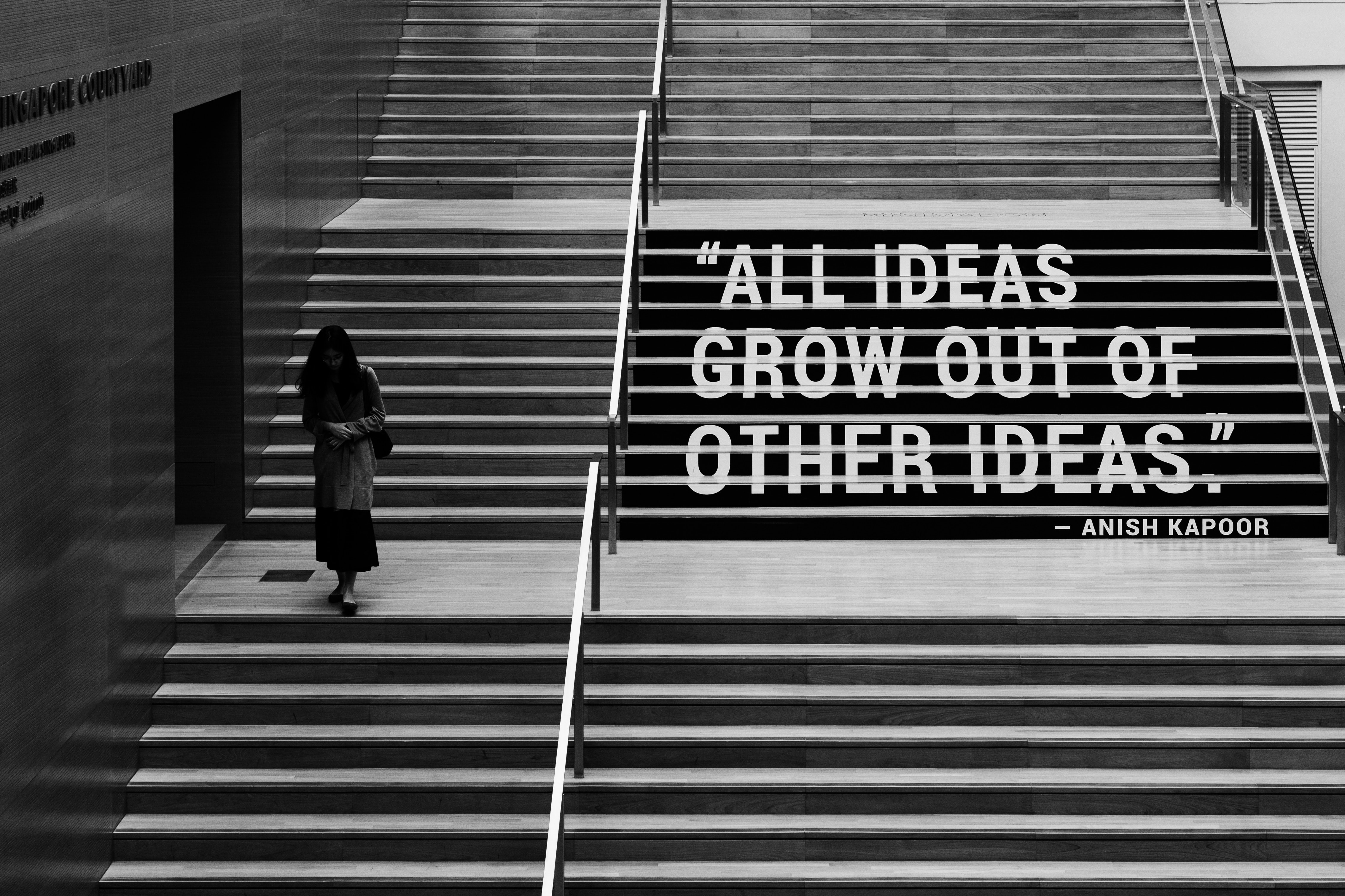 """All ideas grow out of other ideas"""