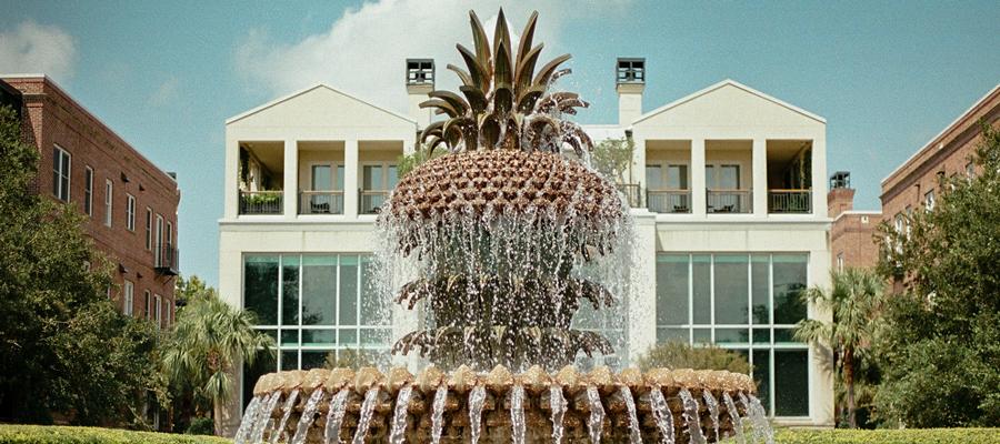Fountain in Charleston, SC