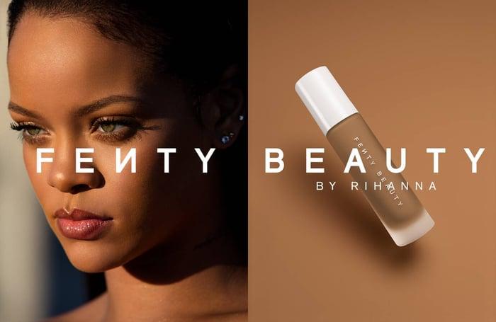 Fenty Beauty ad
