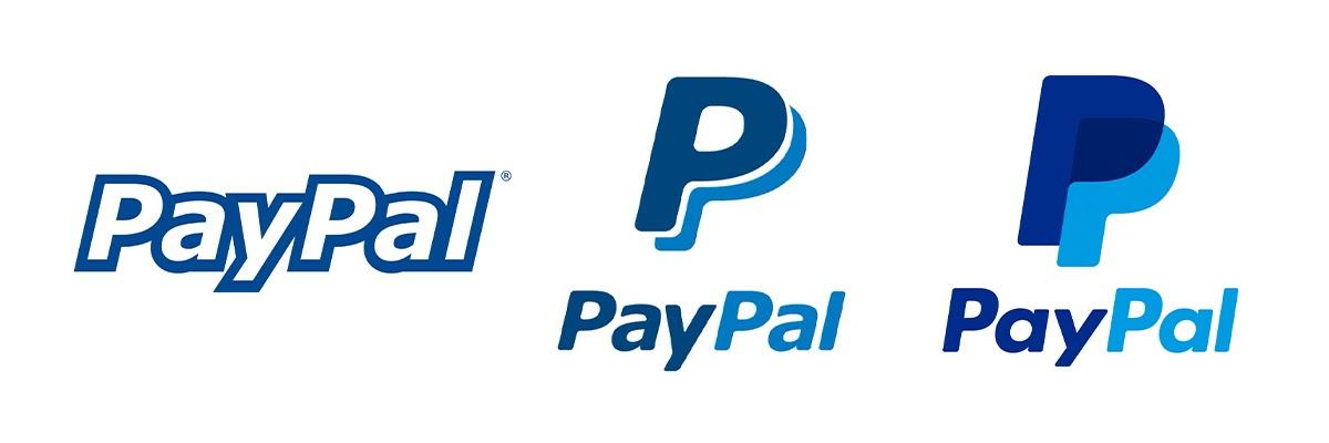 Evolution of PayPal Logo