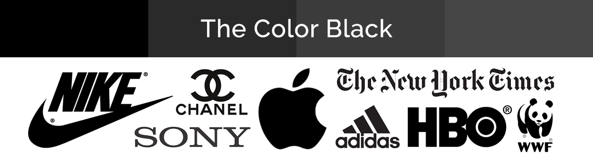 Compilation of black logos